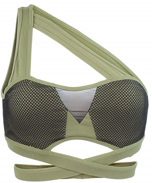 AB-Butter-One-Shoulder-Wraparound-Bandage-Sports-Bra