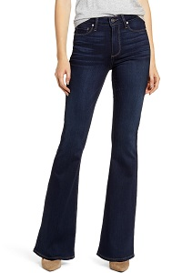 PAIGE Transcend-Bell Canyon High Waist Flare Jeans