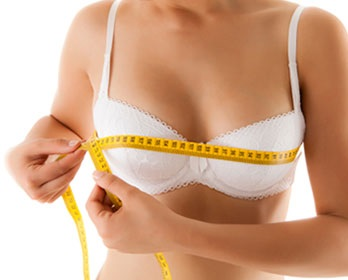 weight affects breast size