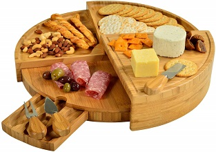 Picnic at Ascot Patented Cheese Board - gift ideas for women
