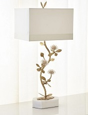Quartz Flower Table Lamp –gift ideas for women