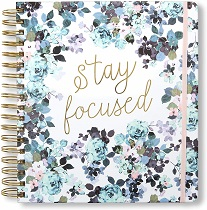 Stay Focused Planner & Calendar - gifts for her