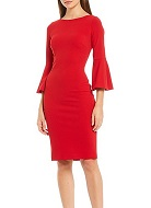 Calvin Klein Sleeve Sheath Dress
