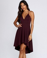 Swept Off Your Feet High-Low Dress