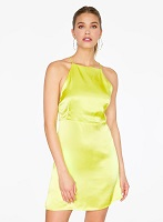 Key Lime Apron Mini Dres