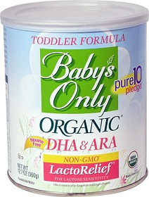 Baby's Only Organic LactoRelief Toddler
