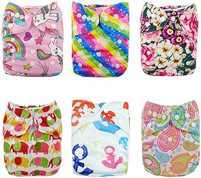 Alvababy Cloth Diapers with Inserts