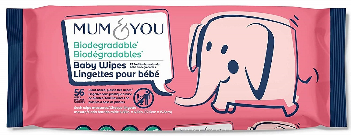 Mum & You Biodegradable Baby Wipes