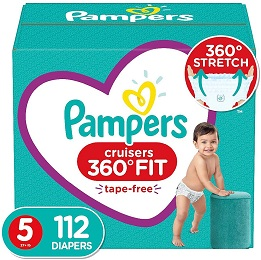 Pampers Cruisers 360˚ Fit Diapers