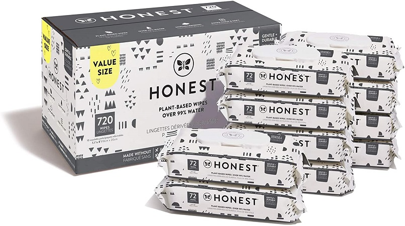The Honest Company Unscented Baby Wipes
