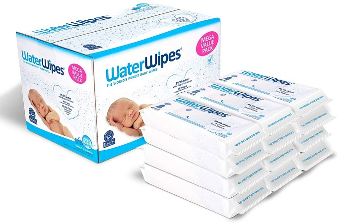 Water Wipes Unscented Baby Wipes