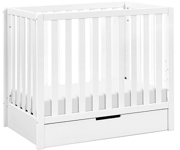 DaVinci Colby 4-in-1 Convertible Mini Crib with Trundle