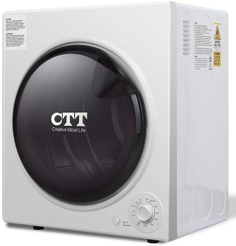 CTT Electric Mini Portable Compact Laundry Clothes Dryer